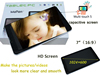 GPS wifi 3g gsm tablet pc with sim card slot build in 4gb flash with android 4.4 os system
