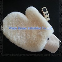 Hot Sell Car Washing Sheepskin Gloves Mittens