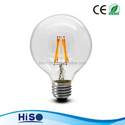 g80 e27 4w led filament bulb warm white livarno lux led