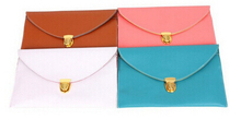 Wholesale Colorful Woman Mini Portable PU Leather Long Shoulder Strap Bag