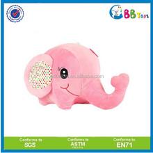 Best-selling 2015 stuffed animals pink elephant plush toys