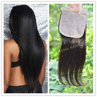 aliexpress brazilian hair top silk base closure wholesale human hair weaves cheap