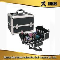 Jinhua Black silver aluminum makeup case