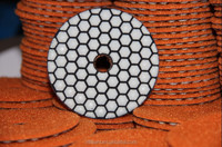 4 inch concrete diamond cup grinding pad/terrazzo polishing hand
