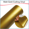 Popular type 100mic metallized film / gold and silver PVC vinyl cutting with factory outlet price