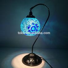 2015- Nuevo diseño de lámpara de mesa con mosaico de vidrio hecho a mano, arte de Turquía, hecho en China (TL01L01)