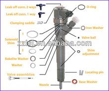 Fuel Injector Shim , Common Rail Bosch Injector Adjustment Shim kit Injector Shims Bosch