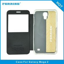 Most reliable supplier flip protective cover case for Samsung Galaxy Mega 2