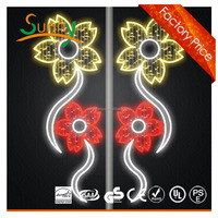 christmas LED motif light on the street pole,festival LED motif light on the street ce/rohs
