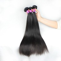 12'14'16'3 pieces Unprocessed Wholesale 100% Silky Straight Virgin Brazillian Hair