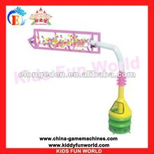 (KFW-AN2010)Hot Sell kid fun world fashional high rotating electric playground