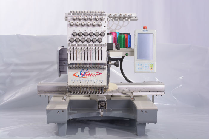 12 Needles Computer Sewing Embroidery Machine/computer Embroidery Machine Price - Buy Computer ...