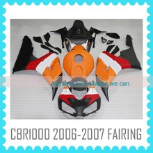 ABS Fairing body Kit for HONDA CBR1000RR 2006 2007 06 07 body work motorcycle parts factory from china