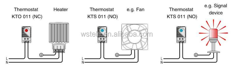 KTO 011 Thermostat Small Electronic Thermostat