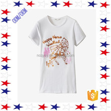 OEM Service 100 Cotton Clothing China Nanchang Manufacturer Design Women T Shirt