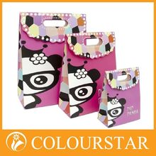 Offset printing cloth shopping paper bags