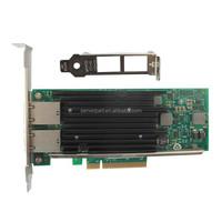 Intel X540 Chipset PCIe x8 Dual Copper Port 10G Network Card Compatible X540-T2