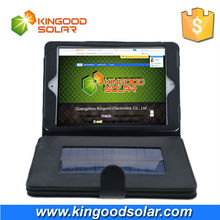 8000mAh solar charger with PVC case for ipad mini