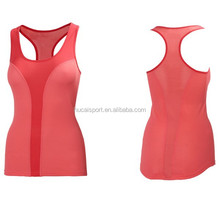 Custom women stringer tank top fitness tank top Dry Fit gym wear wrestling singlets for girls