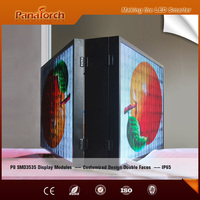 Customized double side Led display screen P8 outdoor RGB full color screen