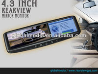 4.3 inch car lcd monitor GPS with camera,bluetooth hands free kit for Lincoln MKS from 2008 to 2011