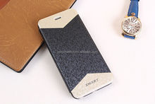 Luxury pu leather cell phone case, for iphone 6 case