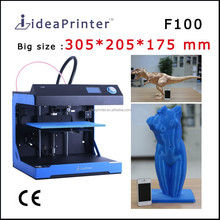 High resolution 0.02 mm digital printer machine 305*205*575 large format 3d printer