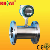 KHLWGY Digital Turbine 4-20mA Output Water Flow Meter