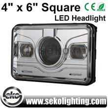 """4"""" X 6"""" Square LED Headlight"""