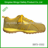 Lightweight Suede Cow Leather Sporty Men Safety Shoe Hiking Safety Shoes