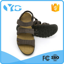 Wear rubber outsole leather arabic sandals man sandal shoe wholesale sandals