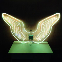 Full colors LED Wings / LED Light dance wings for DJ club stage performance