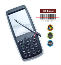 Wins mobile 6.5 OS 3.2inch Handheld 1D Laser Barcode Scanners