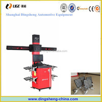 hot model 3d car wheel alignment equipped with 13-24 clamps panel plate