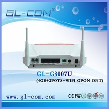 High quality ! 4GE GPON ZTE ONT ZXHN F660 SC/APC 4GE+2POTS+WIFI+1USB Bridge/Route+Voice GPON ONU GPON ONT