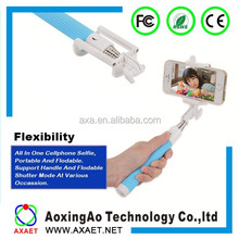 Bluetooth wireless selfie stick monopod for phone camera hot new products for 2015