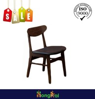 Restaurant chair plywood dark wood dining table and chairs on sale