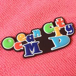 3D souvenir PVC Rubber Fridge Magnet/Rubber Refrigerator Magnet sticker
