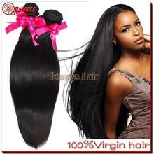 100 percent raw virgin remy hair, grade 6a hotsale brazilian fish wire hair extension