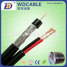 La norma iso. Rohs. Ce certificado de cable coaxial cable rg59+power