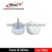 FM43 Furniture Plastic Adjustable Chair Glides