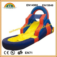 2015 newest design inflatable wet/dry slide for sale