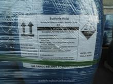 98% industrial grade sulfuric acid