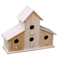 Top quality handmade wooden bird hose/pet house, decorated wooden bird house
