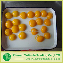 Buy wholesale direct from china chinese produce canned yellow peaches in syrup