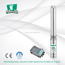 3TSC3.5-50-48/500 plastic impeller DC brushless motor solar submersible deep well water pump