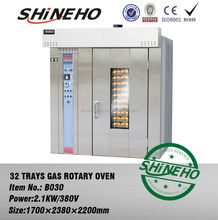 32 trays hot air rotary furnace/bakery oven prices/Commercial Oven for Baking Bread