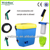 (23458) 16L new multipurpose completed accessories electric portable car wash high pressure water pump