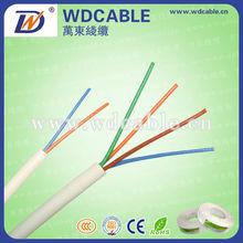 multi par telefónico de comunicación por cable de alta calidad de cables de teléfono