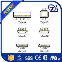 First-Rate Mini Cute USB 3.1 Type-C Male to Micro USB Female Data Adapter Black#